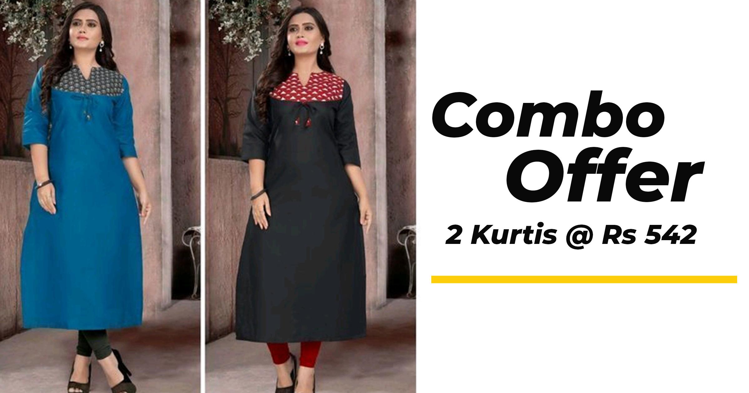 Fabulous cotton kurtis for women